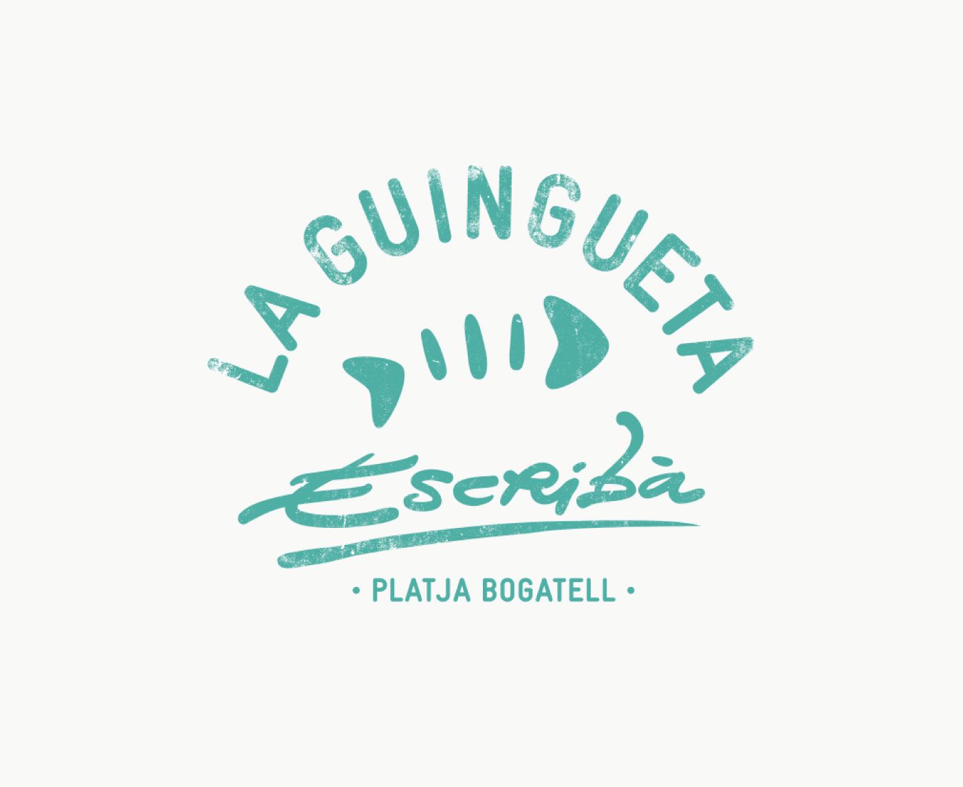 Logotipo restaurante La Guingueta Escribà (Barcelona)