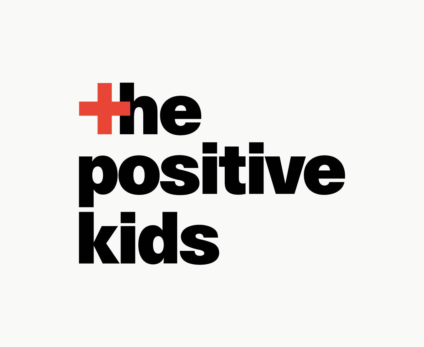 Logotipo proyecto documental sobre el VIH The Positive Kids